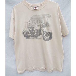 Vintage Harley Davidson Santa Barbara T-Shirt